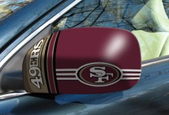 NFL - San Francisco 49ers Small Mirror Covers