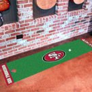 "NFL -San Francisco 49ers Putting Green Rug Runner 18""W x 72""H"