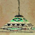 Meyda 17 Inch Sq Valencia Mission Stained Glass Pendant Ceiling Fixture