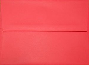 A7 Envelopes: Red (set of 100)