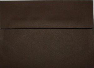 A7 Envelopes: Chocolate Brown (set of 100)