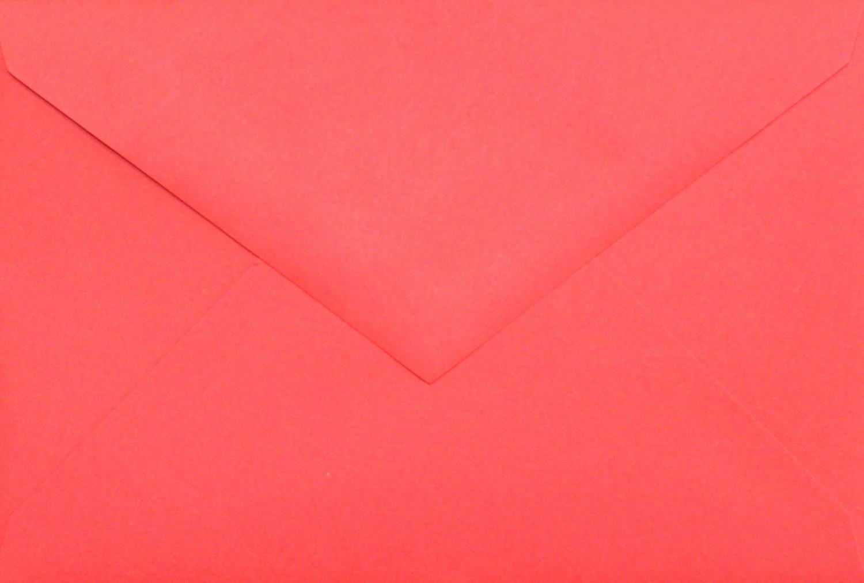 4x6 Photo Card Envelopes: Red (set of 100)