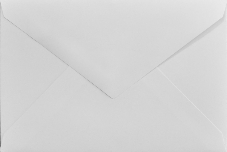 4x6 Photo Card Envelopes: White 80lb (set of 100)