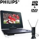 PHILIPS® 7 INCH PORTABLE DVD AND DIGITAL TV