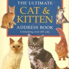 The Ultimate Cat & Kitten Address Book