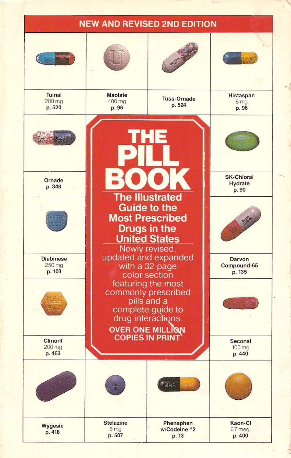 The Pill Book - New & Revised 2nd Edition
