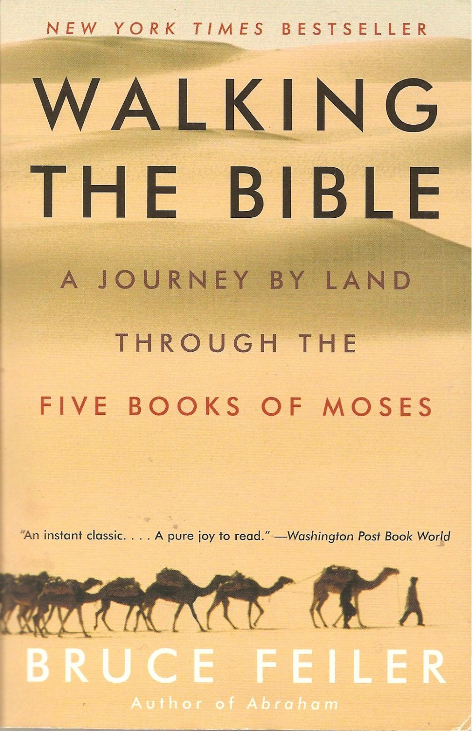 bruce feilers walking the bible essay Walking the bible: a journey by land through the five books of moses by bruce feiler in fb2, fb3, rtf download e-book.