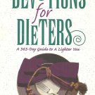 Devotions For Dieters - HC - A 365-Day Guide To A Lighter You