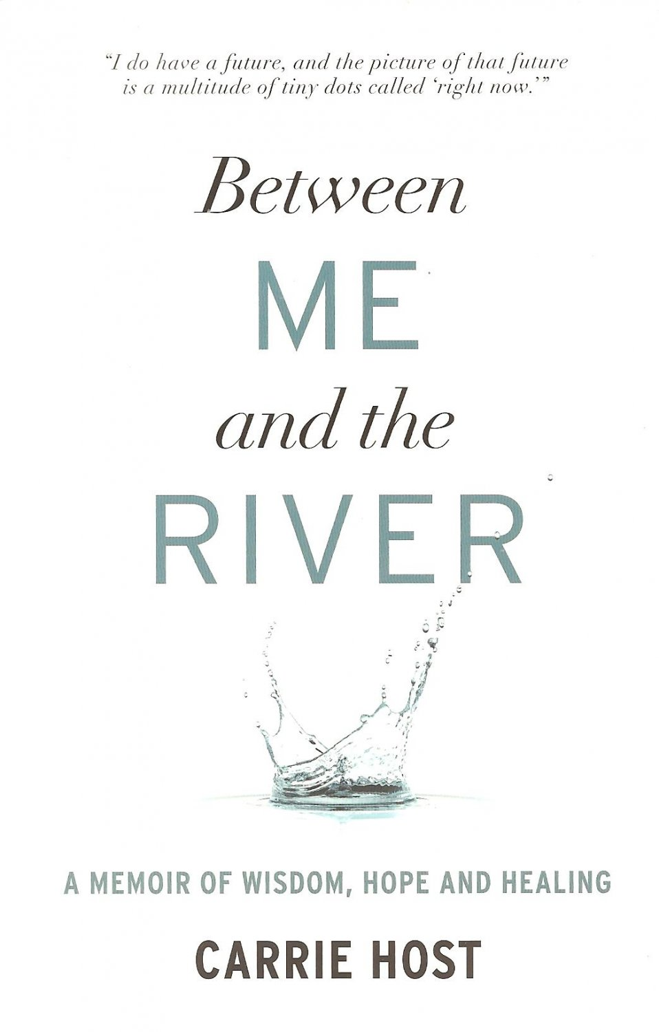 Between Me And The River - A Memoir Of Wisdom, Hope, And Healing