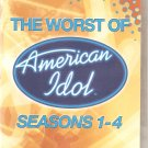 The Worst Of American Idol - Season 1-4 - DVD