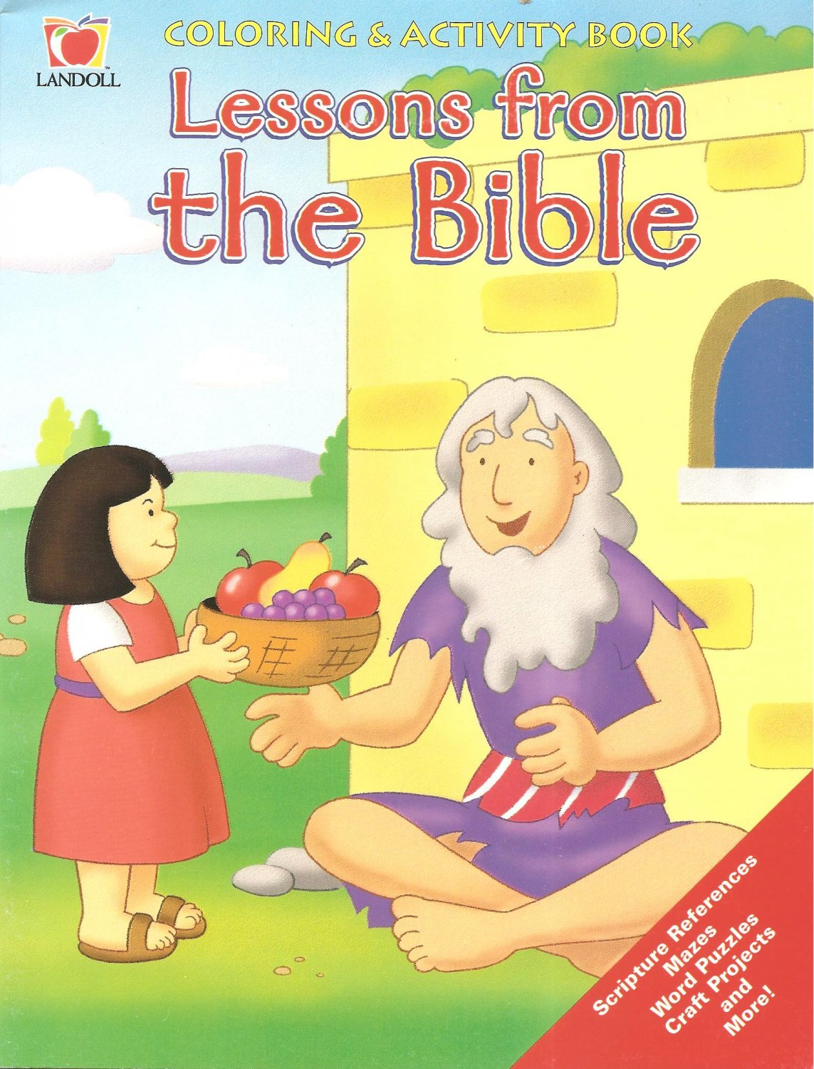Lessons From The Bible - Coloring & Activity Book