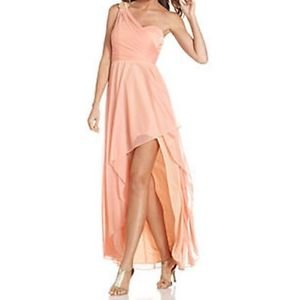 Xscape New Dress, One-Shoulder High-Low Gown, Size 14 $189