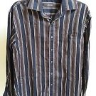 Tasso Elba Men's Striped Button-Down Shirt Size S
