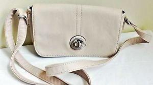 Tyler Rodan Bloomfield Soft Crossbody Bag Shell MSRP $59