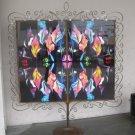 Iron-framed Lance Patigian Southwestern Kaleidoscope Abstract #1