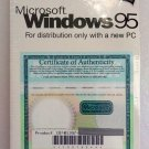 WINDOWS95 WINDOWS 95 W/COA