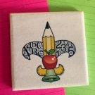 The Fleur-De-Teach Original Coaster