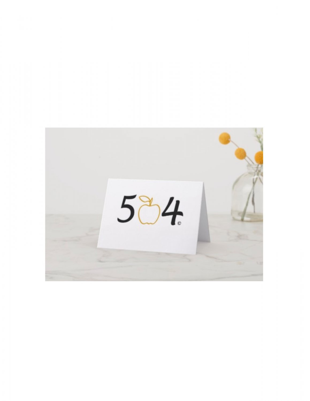 The 504 Teacher Note Cards