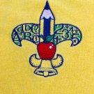 The Krewe of Fleur-De-Teach Short Sleeve Gold  - Medium