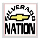 "Silverado Nation 5""x5"" Decal - NATION"