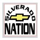 "Silverado Nation 5""x5"" Decal - 1500"