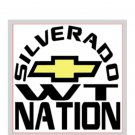 "Silverado Nation 5""x5"" Decal - WORK TRUCK"