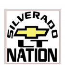 "Silverado Nation 5""x5"" Decal - LT"