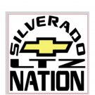 "Silverado Nation 5""x5"" Decal - LTZ"