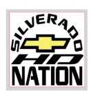 "Silverado Nation 5""x5"" Decal - HD"