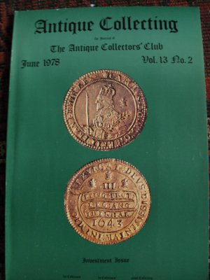 Antique Collecting Vol. 13, No. 2, June 1978