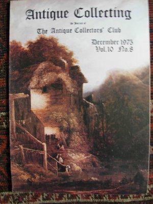 Antique Collecting Vol. 10, No. 8, December 1975