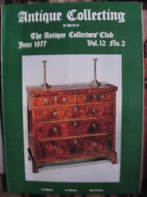 Antique Collecting Vol. 12, No. 2, June 1977