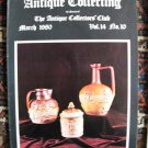 Antique Collecting Vol. 14, No. 10, March 1980