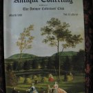 Antique Collecting Vol. 15, No. 10, March 1981