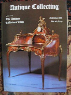 Antique Collecting Vol. 16, No. 6, November 1981