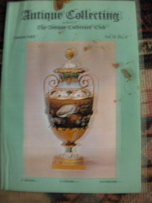 Antique Collecting Vol. 16, No. 8, January 1982