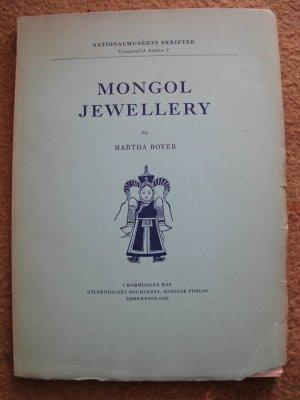 Martha Boyer.  Mongol Jewellery.