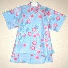 Skirt Kimono - Blue Sakura