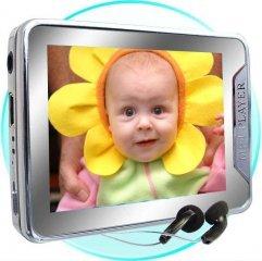 2.4-inch Screen 4GB MP4 Player, Mini SD Card Slot