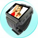 Widescreen MP4 Player Watch - 1.8 Inch Display - 4GB