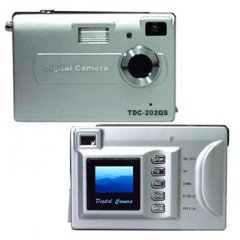 2 Megapixel Compact Digital Camera - SD MMC