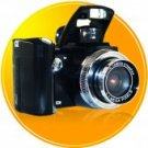 Multifunction Pop-Up Flash Zoom Digital Camera Wide-Angle Lens