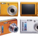 Smart 3x Optical Zoom 6.1 Megapixel Digital Camera - 2.5in LCD