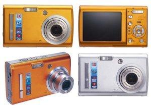 Smart 3x Optical Zoom 6.1 Megapixel Digital Camera - 2.5in LCD