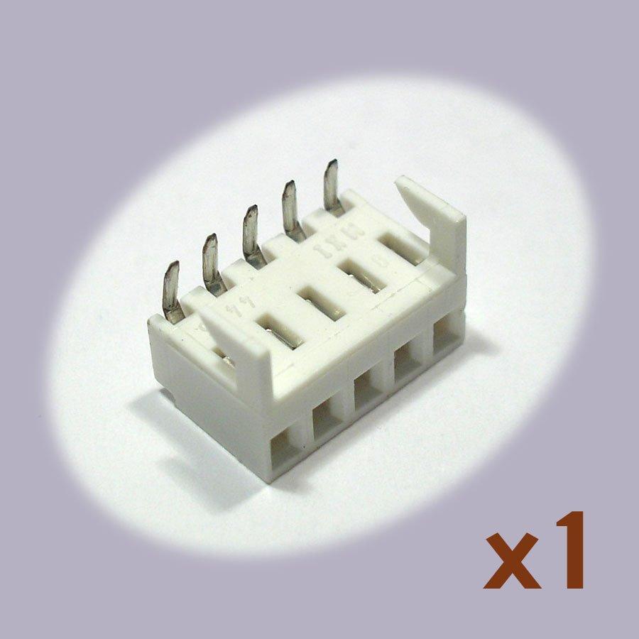 Molex 38-00-1335 5-pin Board Edge Connector (single, NoS)
