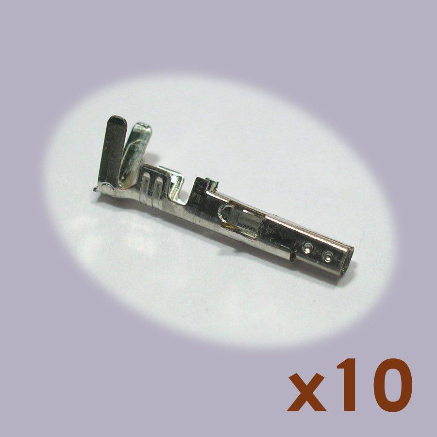 Civlux CP-01100104 Crimp Type Receptacle Connectors (10 pcs, NoS)