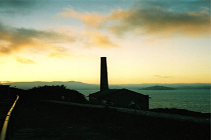 Sunset view from Alcatraz