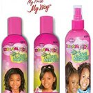 Dream Kids Olive Miracle TRIO Set (Detangling Shampoo, Anti-Reversion Conditioner, and  Detangler)