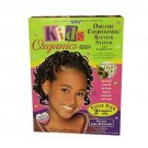 AFRICA'S BEST Kids Organics No-Lye Conditioning Relaxer System with Scalp Guard for Regular Hair