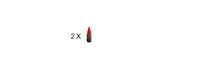 Salon Pro Hair Extension Black Glue 1 oz
